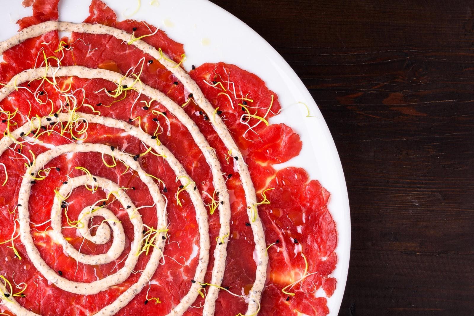 Antipasto con bresaola del nostro ristorante a Rimini